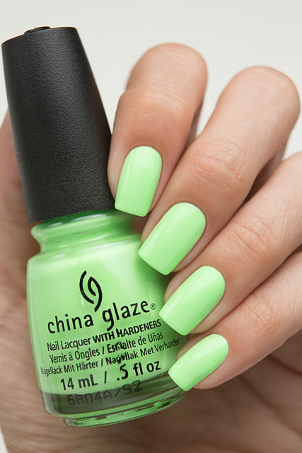 China Glaze 83548 Lime After Lime | Lite Brites collection | Summer 2016