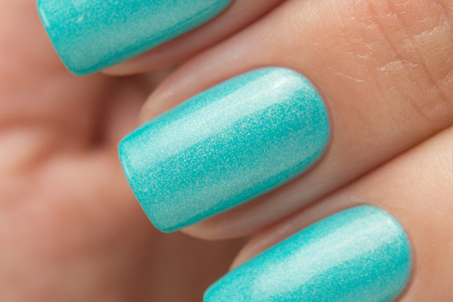 China Glaze 83550 What I Like About Blue | Lite Brites collection | Summer 2016