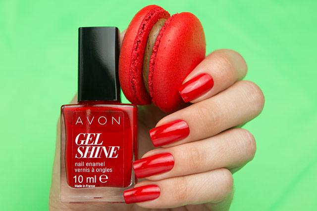 Avon Gel Shine P812 nail enamel
