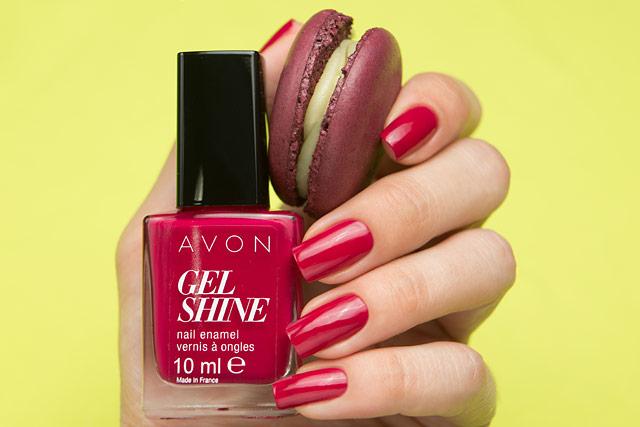 Avon Gel Shine P814 nail enamel
