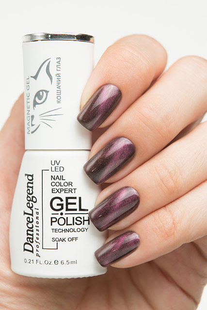 LE 53 Red | Dance Legend Magnetic Gel Top collection