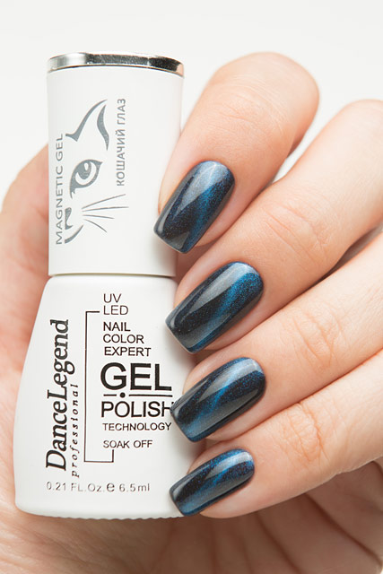 LE 55 Blue | Dance Legend Magnetic Gel Top collection