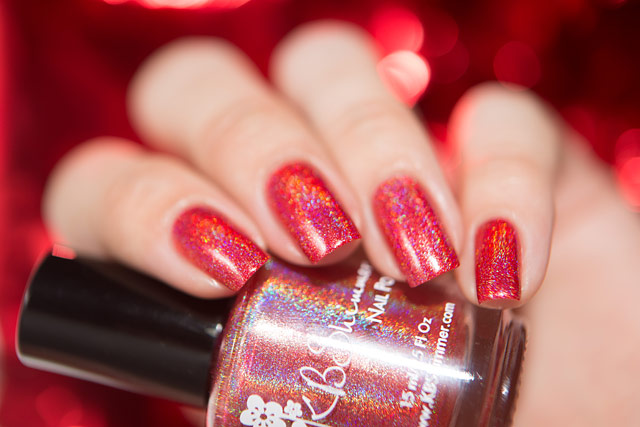 KBShimmer Poppy Kisses | Fall 2016 collection