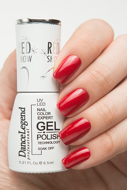 Dance Legend LE58 Red Your Mind | Red Show Gel collection