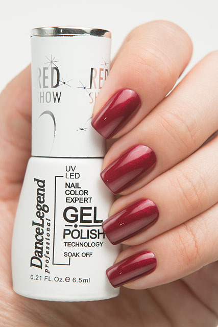 Dance Legend LE62 Redrum | Red Show Gel collection