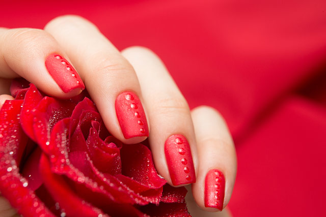 Dance Legend LE59 Red-y To Roll |Red Show Gel collection | Gel Polish Velvet Matt Top Coat