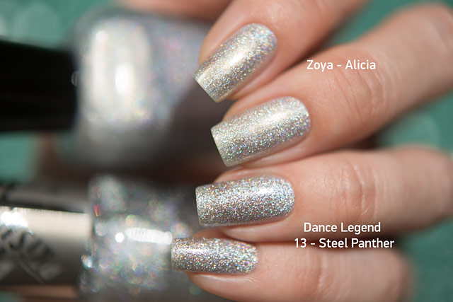 Zoya Alicia| Urban Grunge collection | Dance Legend Wow Prism 13 Steel Panther