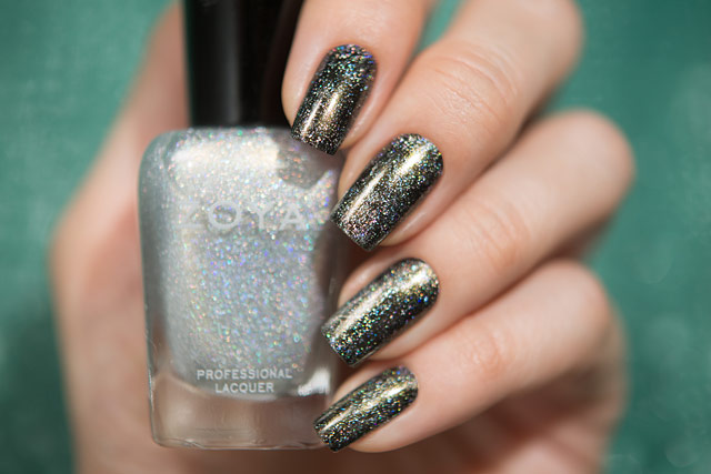 Zoya Alicia| Urban Grunge collection | Dance Legend Black Glitter Base