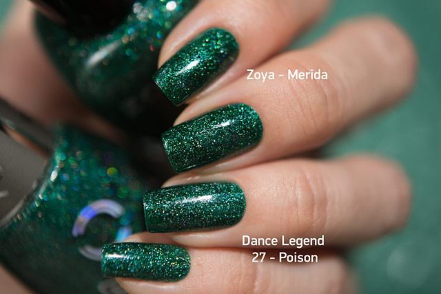 Zoya Merida| Urban Grunge collection | Dance Legend Wow Prism 27 Poison
