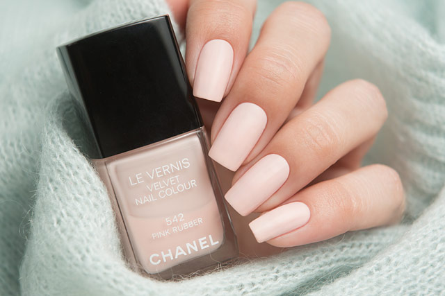 Chanel Pink Rubber | Collection Libre Synthetic de Chanel