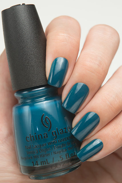 China Glaze 83611 Jagged Little Teal | Rebel collection