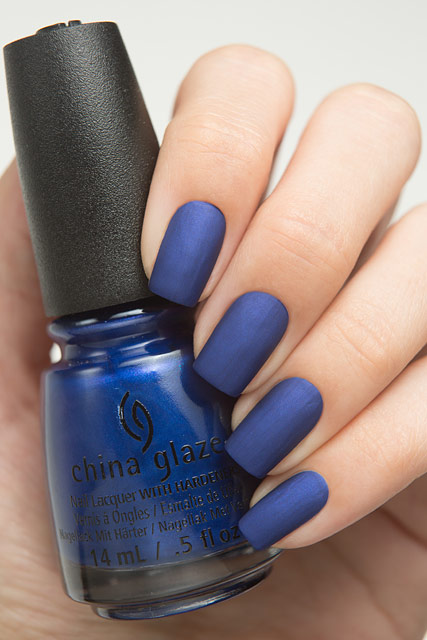 China Glaze 83612 Combat Blue-ts | Rebel collection