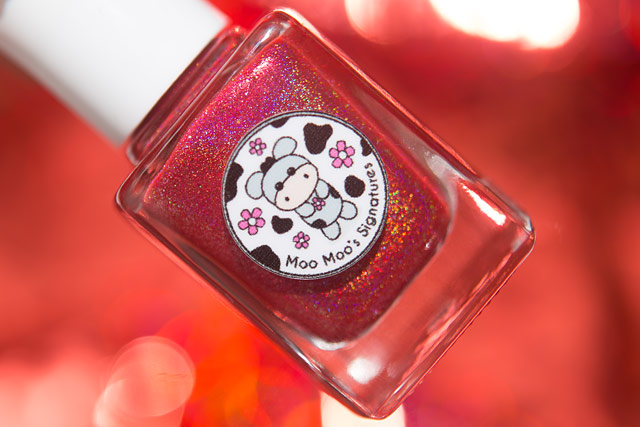 Moo Moo Polish Fire Rooster