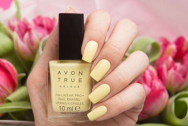 AVON Lemon Sugar | True Colour Nailwear Pro+