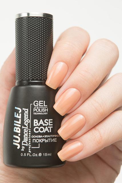 Nude Warm Base Plus | Ju.Bilej by Dance Legend Gel Polish
