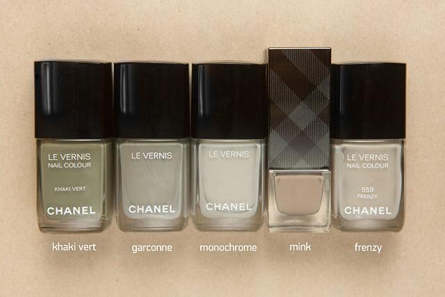 Chanel Khaki Vert Garconne Monochrome Burberry Mink Frenzy