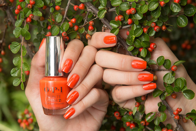 OPI ISL D39 Santa Monica Beach Peach | California Dreaming collection | Infinite Shine