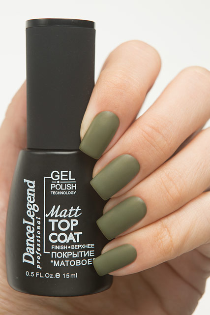 Dance Legend Matt Top Coat