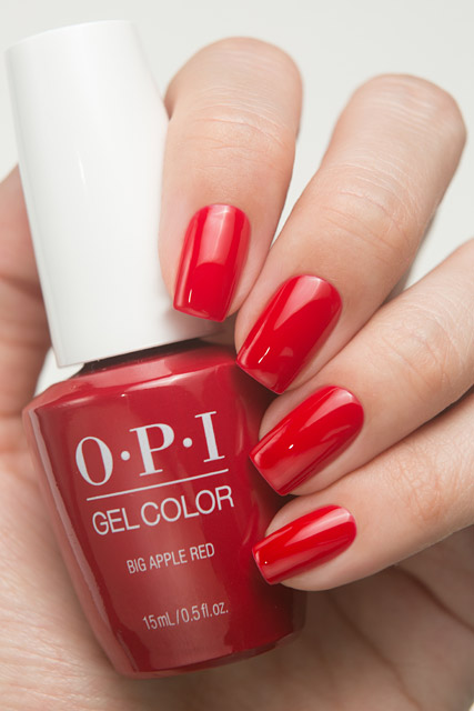 OPI GC N25 - Big Apple Red
