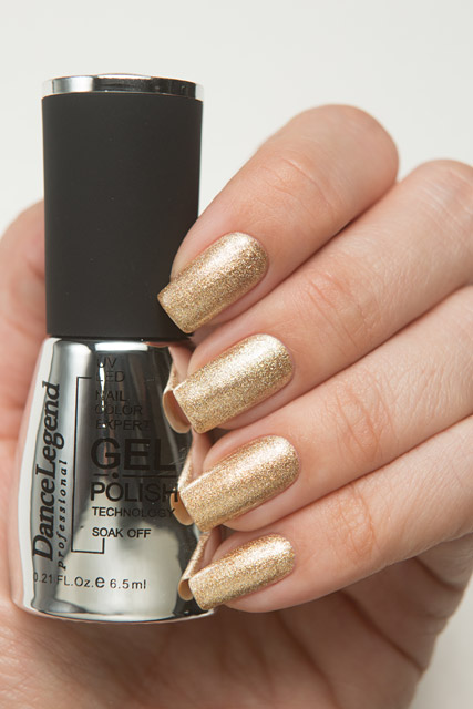 LE113 Big Citrine Lights | Dance Legend Gel Polish Jewels collection