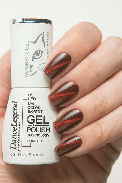 Dance Legend Gel Polish LE118 Magnetic Red Top