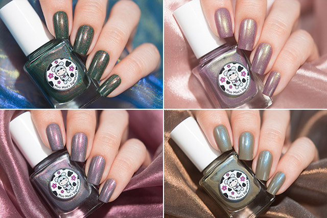 Moo Moo's Signatures Shimmer Paradise collection