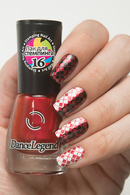 16 Metalic Red | Dance Legend Stamping collection
