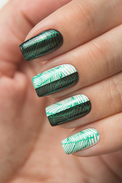 18 Metalic Green | Dance Legend Stamping collection