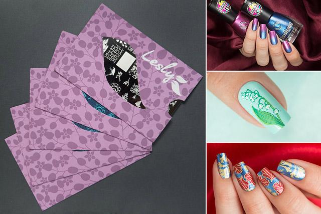 Lesly & nailsAnnaGorelova stamping plate #32