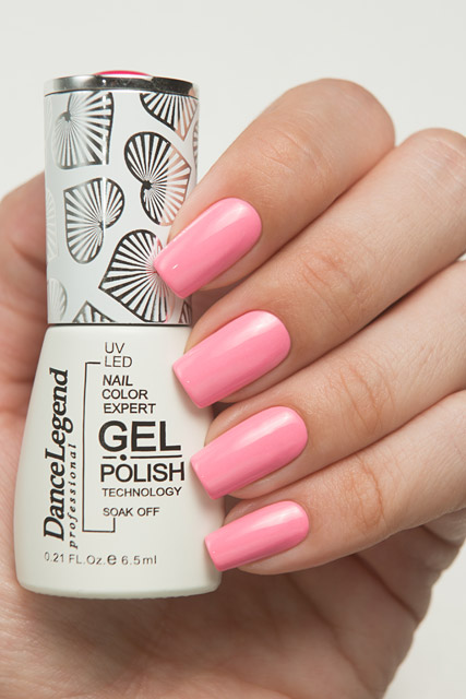 LE121 Wise King Salmon | Dance Legend Gel Polish Pinky collection