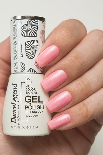 LE123 Rose and Poetry | Dance Legend Gel Polish Pinky collection