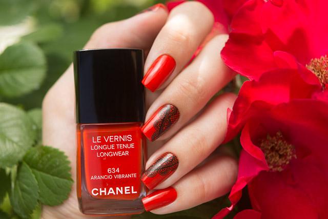 Chanel 634 Arancio Vibrante