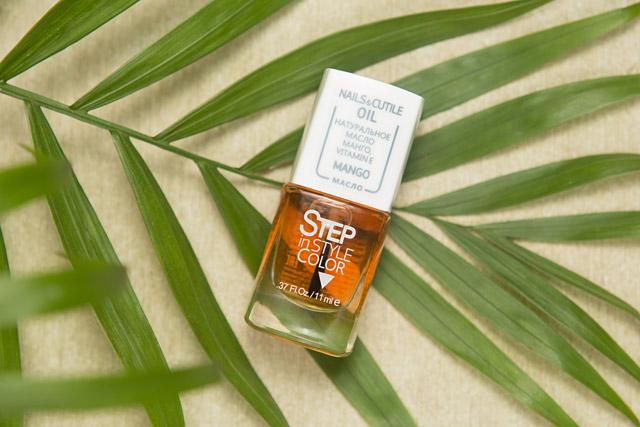 Step Nails and Cuticle Oil Mango