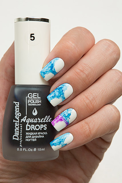 05 Blue | Dance Legend Gel Polish Aquarelle Drops collection