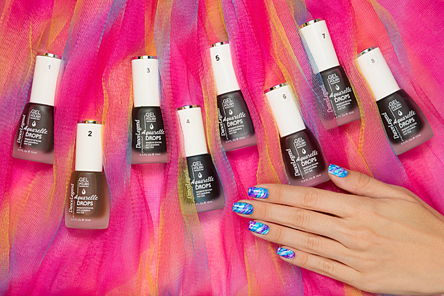 Dance Legend Gel Polish Aquarelle Drops collection