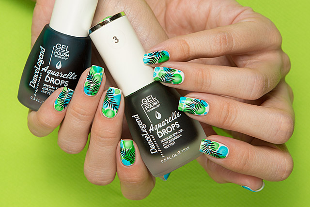Dance Legend Gel Polish Aquarelle Drops