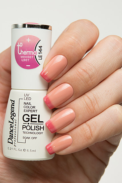 LE144 Apples and Oranges | Dance Legend Gel Polish Thermo collection