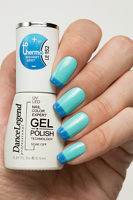 152 Out of the Blue | Dance Legend Gel Polish Thermo collection