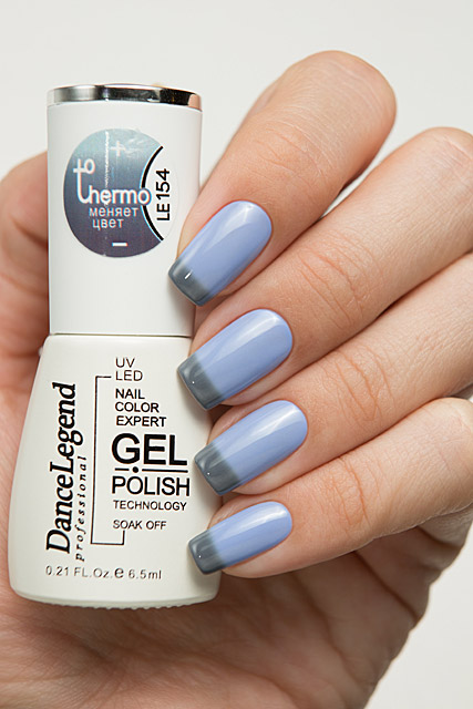 LE154 Smoke and Mirrors | Dance Legend Gel Polish Thermo collection