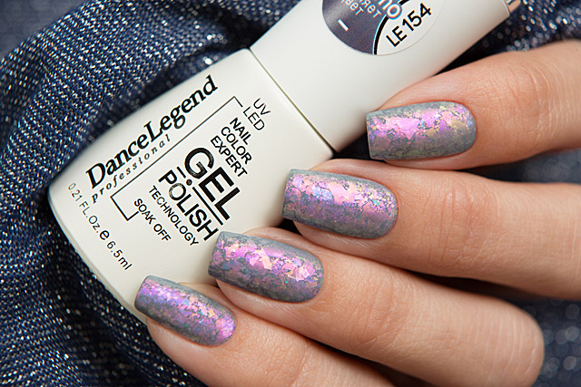 154 Smoke and Mirrors | Dance Legend Gel Polish Thermo collection