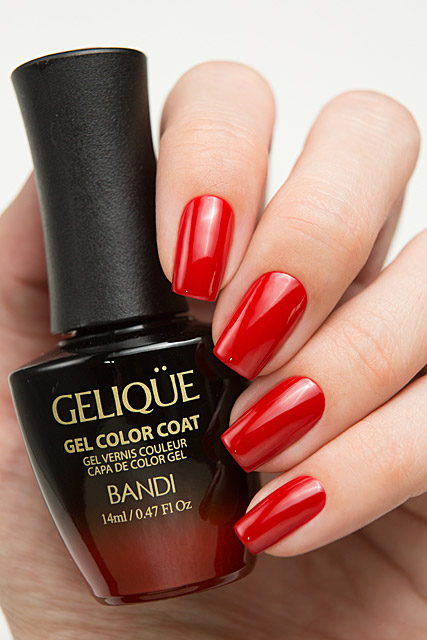 GF529 Moravian Red | Bandi Gelique Moravian Red collection
