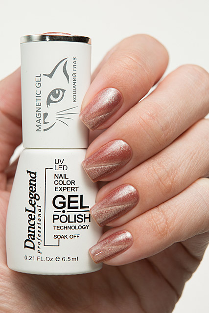 LE166 Full Monty | Dance Legend Gel Polish Gel Magnetic Nude collection