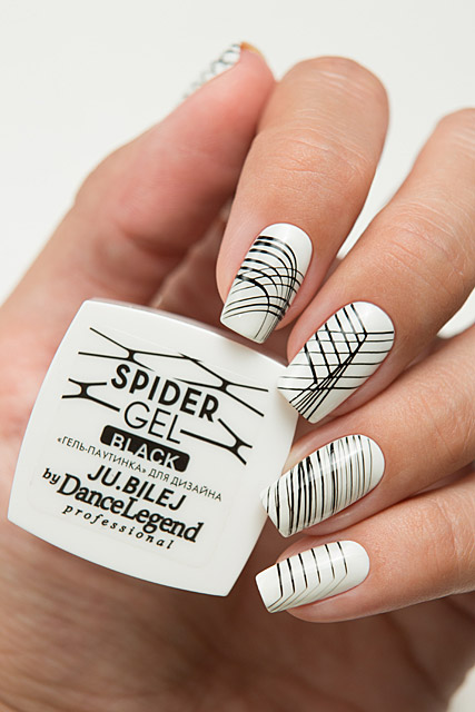 Spider Gel Black | Ju.Bilej by Dance Legend