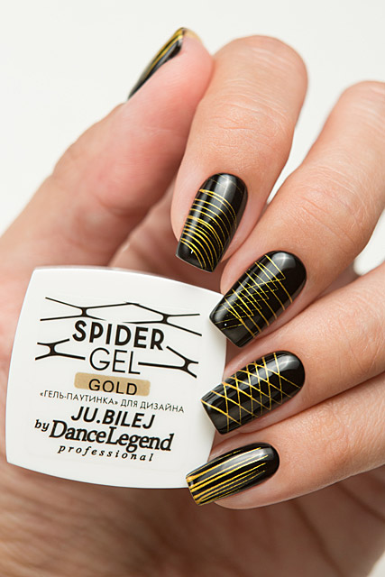 Spider Gel Gold | Ju.Bilej by Dance Legend