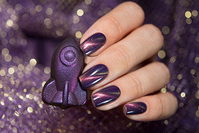 Infinity | Bow Nail Polish Magnetic Fall 2019 collection