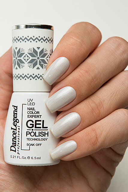 LE191 Grey-kjavik | Dance Legend Gel Polish Iceland collection