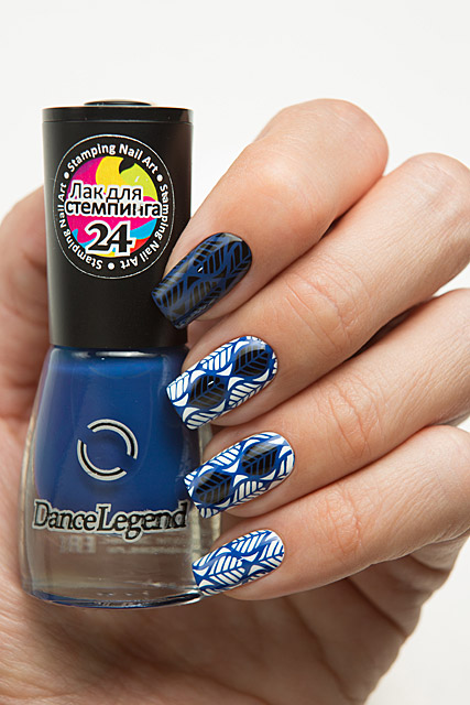 24 Deep Blue | Dance Legend Stamping collection