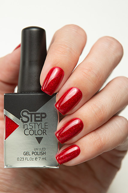 W01 Cherry Ice / Вишнёвый лёд \ Step Gel Polish Winter 2020