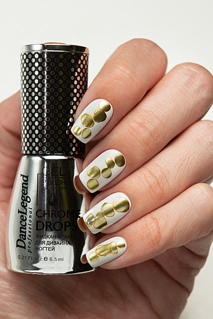 01 Gold | Dance Legend - Gel Polish - Chrome Drops