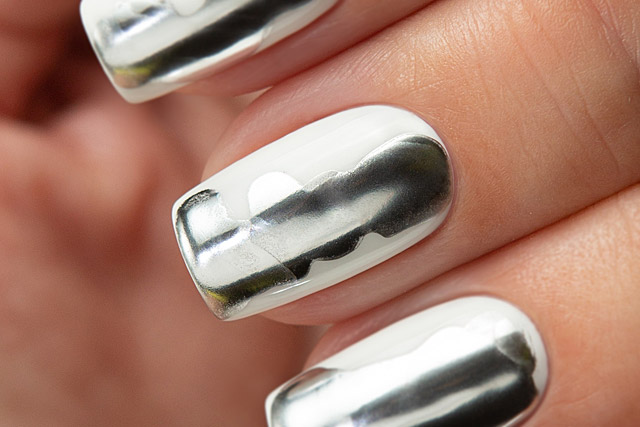 03 Silver | Dance Legend - Gel Polish - Chrome Drops